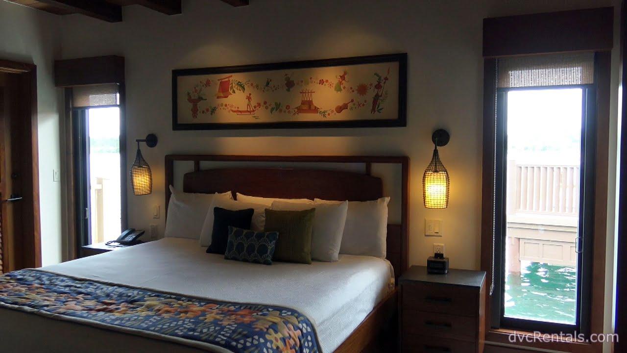 Polynesian Village Resort Room Tours Overwater