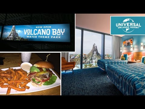 Checking into Universal's Cabana Bay Beach Resort, Volcano Bay, Cowfish & More!
