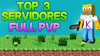 top servidores de minecraft Full PvP no premium 1.8