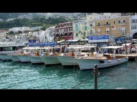 Италия, остров Капри - Italia, Capri slideshow
