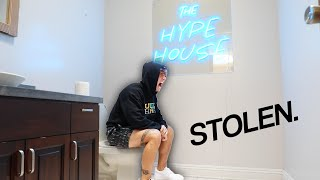 We stole the Hype House Sign