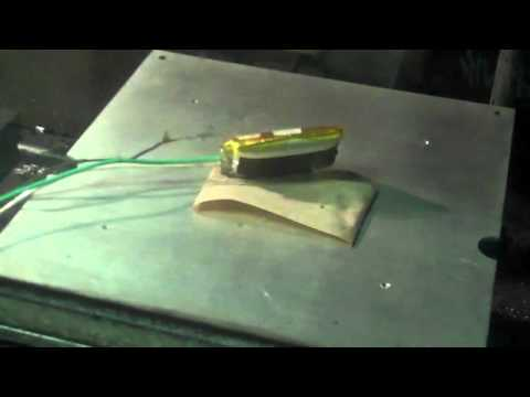 Lithium Ion Battery Explosion