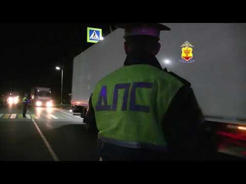 Видео с места ДТП на трассе М7 в Чувашии 11.10.2018
