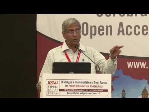 Mr. VP Raja, Fmr. Chairman, Maharashtra Electricity Regulatory Commission - IOACF 2016