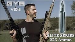 DRT 223 ELITE SERIES Ammo -vs- Windshield & Concrete
