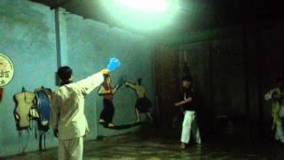 Đá 360. (Karate - The kick 360)