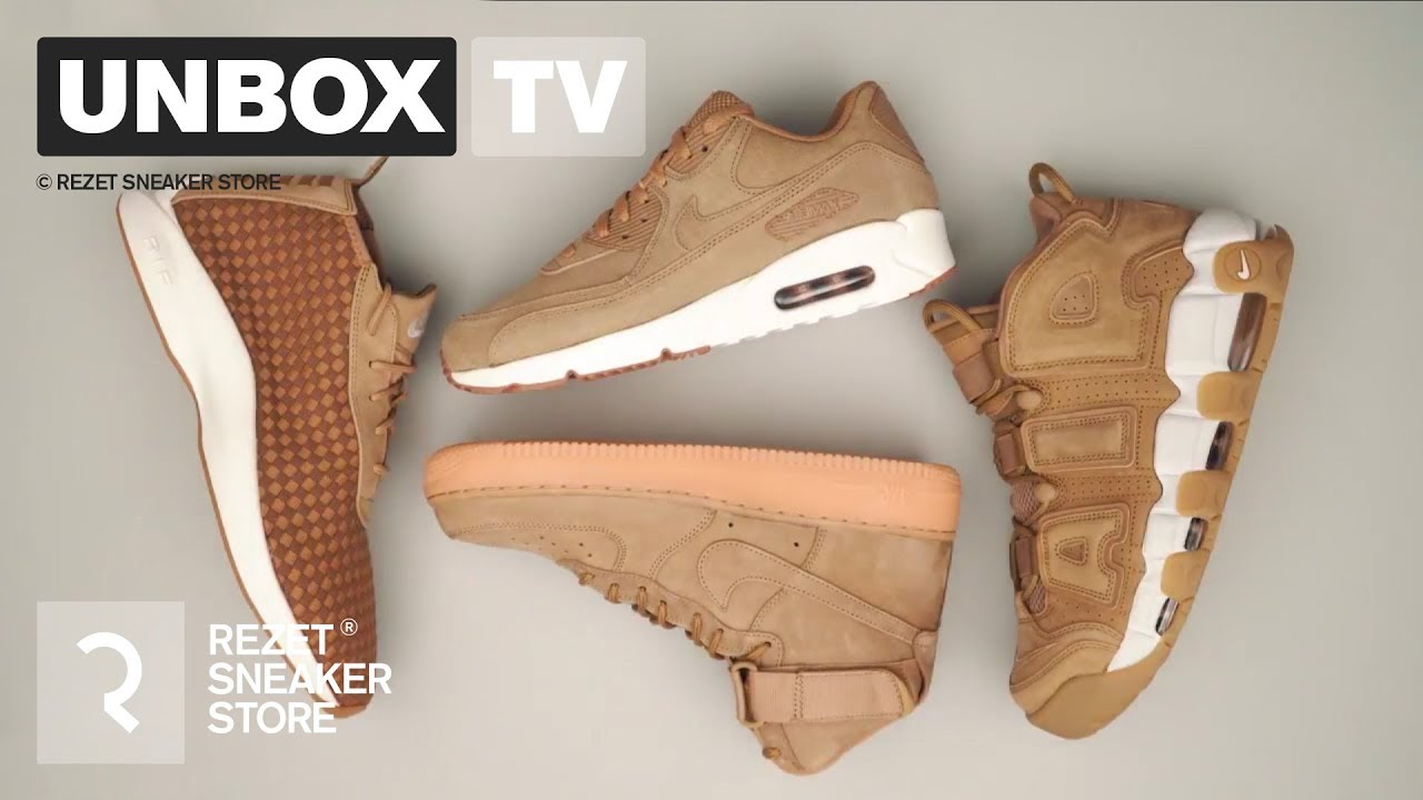 90Uptempo Unboxing Nike 1Max Air Pack Force Flax And Woven HIYbWEeD29