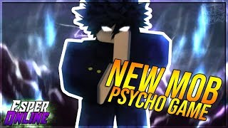 NEW ROBLOX MOB PSYCHO GAME ESPER ONLINE! THIS GAME IS AMAZING!