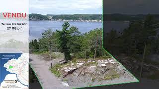 Terrain à vendre boisé en nature  | Projet immobilier de luxe  | CANADA, QUEBEC, CHICOUTIMI
