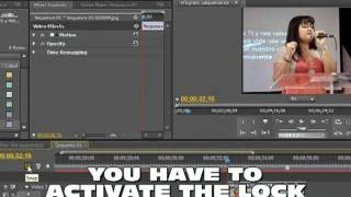 Adobe Premiere Pro CS5 CS4 Tutorial Effect Freeze Image