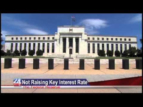 Not Raising Key Interest Rate