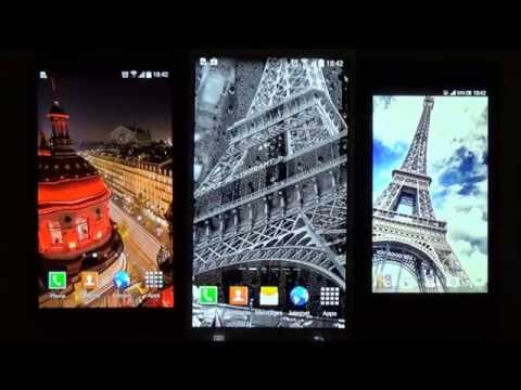 Rainy Paris Live Wallpaper for Android phones and tablets