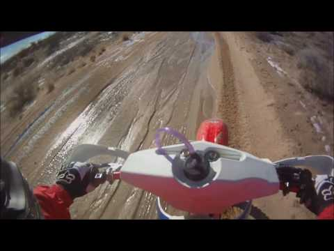 Jawbone ohv, cr250 with acerbis auxiliary 0.6 gas tank