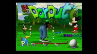Disney Golf PS2 Multiplayer Gameplay (BVG Games) Part 1 of 2