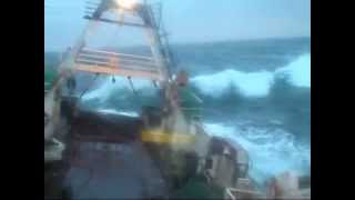 Northsea trawl fishing