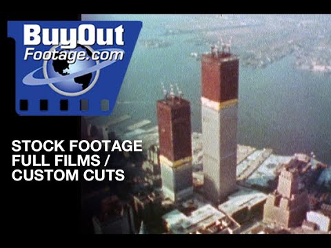 Building The World Trade Center 1970s Stock Footage