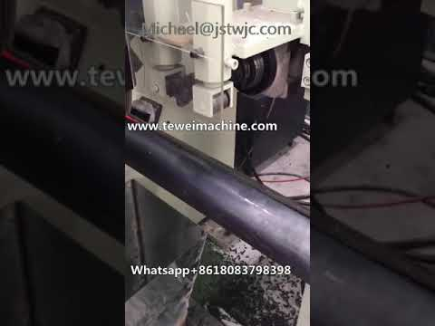 Automatic Tewei Light Pole Welding Machine for Sale