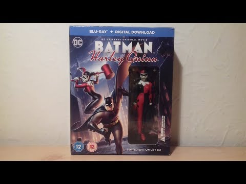 Batman and Harley Quinn Limited Edition Blu-Ray Movie Review streaming vf
