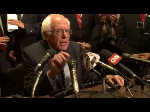 New Hampshire Primary Ballot Filing Press Q&A   Bernie Sanders