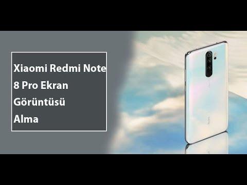 Xiaomi Redmi Note 8 Pro Ekran Görüntüsü Nasıl Alınır?
