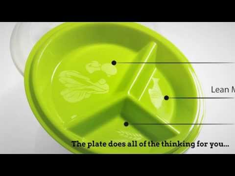 portion control plates weight loss portion food plates 13085