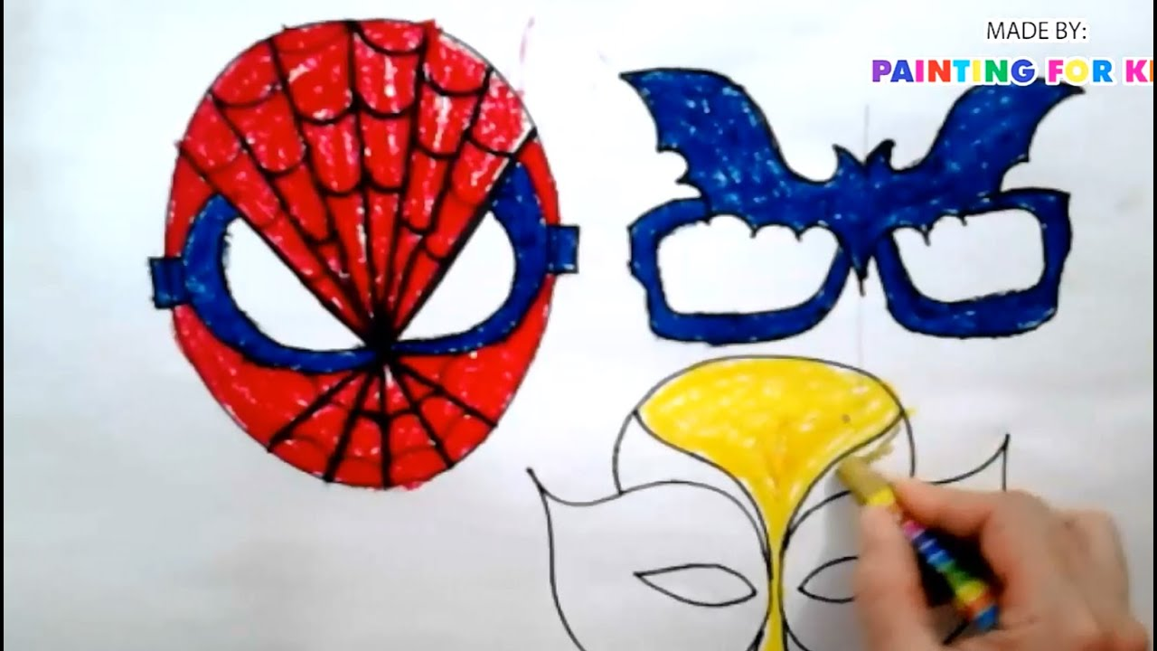 how to draw halloween how to draw a mask for kids how to make