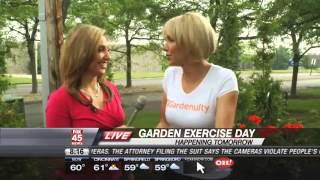 Get Out! Tomorrow Is National Garden Exercise Day