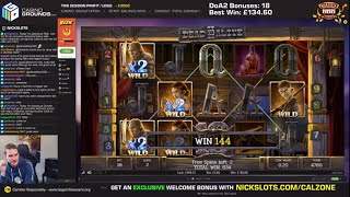 Casino Slots Live - 15/08/19 *DoA 2 Quads!*