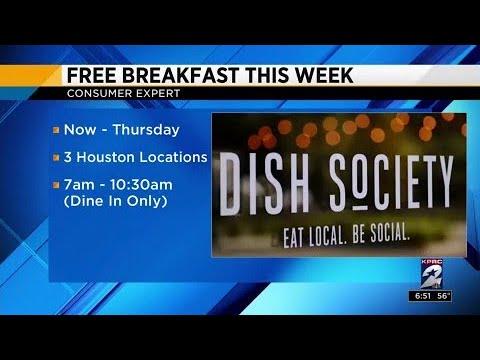 Consumer Headlines: Dish Society dishes breakfast, Ben & Jerry's spreads ice cream
