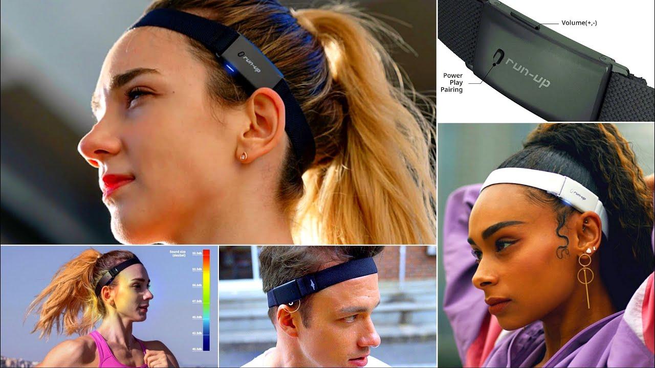 RUN UP - The Best Open-Ear Audio Headband! A New Sound Experience | Phone Calls