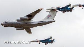 DEMOSTRACION de la fuerza de Rusia frente a la OTAN causa temor a la OTAN, P.A.