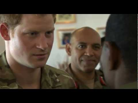 Jubilee tour of the Caribbean: Prince Harry visits army base