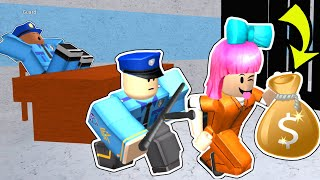 Roblox: ESCAPING FROM PRISON!!!