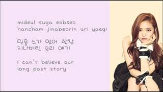 Gambar cover A PINK - LUV Lyrics (Rom+Han+Eng)