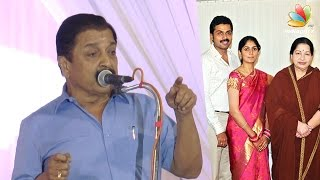 Jayalalitha adviced Karthi against love marriage : Sivakumar Speech | Nadigar Sangam Meeting