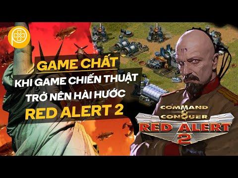 Game Chất   Command & Conquer: Red Alert 2   Game RTS Hài Hước Nhất   Phê Game