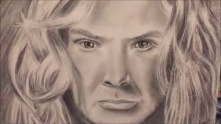 Dave Mustaine drawing tutorial part 3