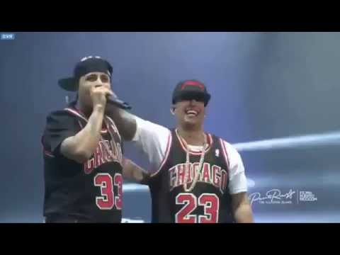 Nicky Jam Y Daddy Yankee  Los Cangris  Coliseo Puerto Rico 2015