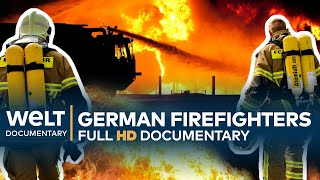 GERMAN FIRE BRIGADE - Rescuers In Action | Full Documentary