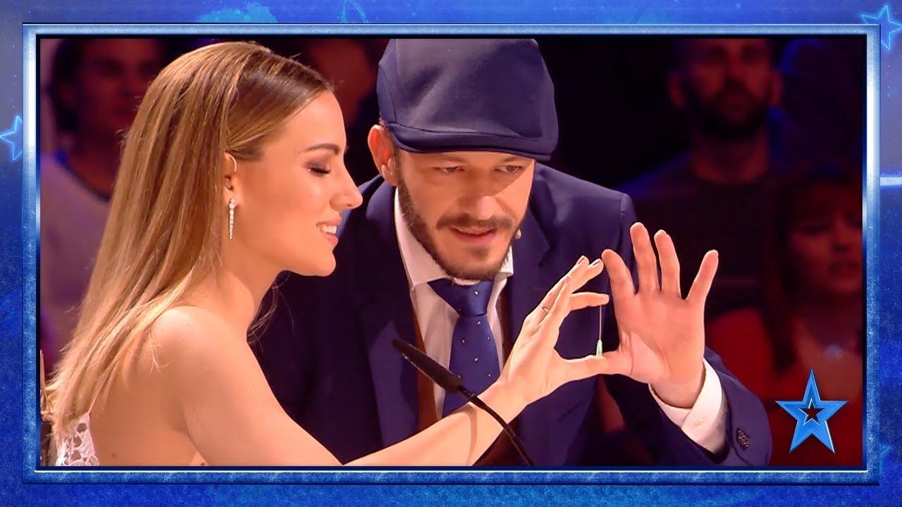 Este MAGO logra HIPNOTIZAR a Edurne en DIRECTO | Semifinal 1 | Got Talent España 2019