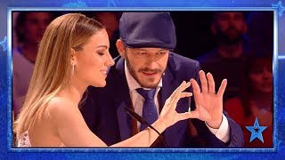 One Of The Judges Gets HYPNOTIZED LIVE | Semifinal 1 | Spain's Got Talent 2019