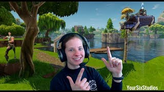 ACTION SARAH FORTNITE WIN??? GIVEAWAY/GOAL - 1k Subs! GAMEPLAY FORTNITE (PS4)