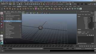 Autodesk Maya 2015 Tutorial | Camera Control
