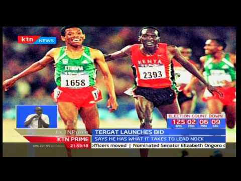 Paul Tergat has launched his National Olympics Committee presidency bid
