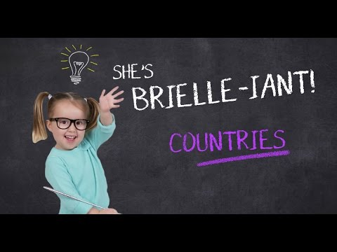 She's Brielle-iant, Countries