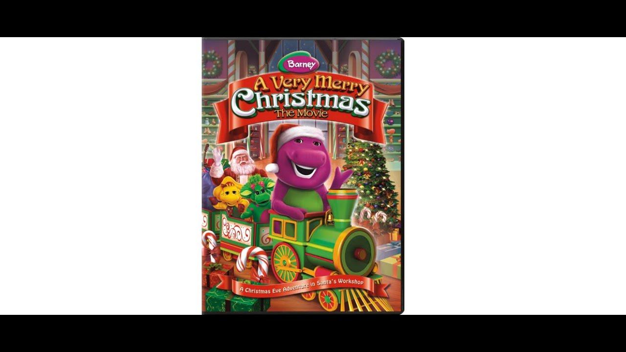 Barney A Very Merry Christmas The Movie Dvd.Opening To Barney And Friends A Very Merry Christmas 2011 Dvd