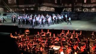 """Wagner der fliegende Holländer """"Steuermann lass die Wacht""""  Orange 12 juillet 2013"""