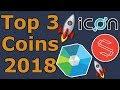 Top 3 Coins für 2018!   Icon, Substratum & RaiBlocks