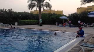 Samir jumping