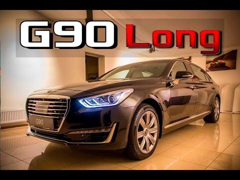 Обзор Genesis G90L 2017 V8 5.0 GDI 4WD Тест Драйв новый Дженезис G90 скоро...